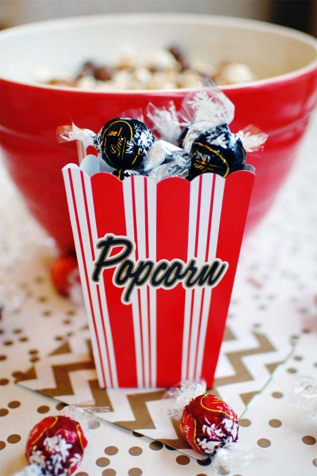 Mini Popcorn Boxes