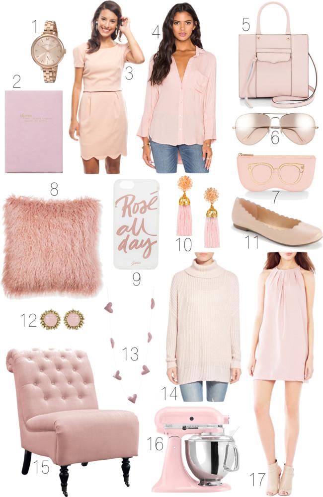 Pantone Rose Quartz Fashion