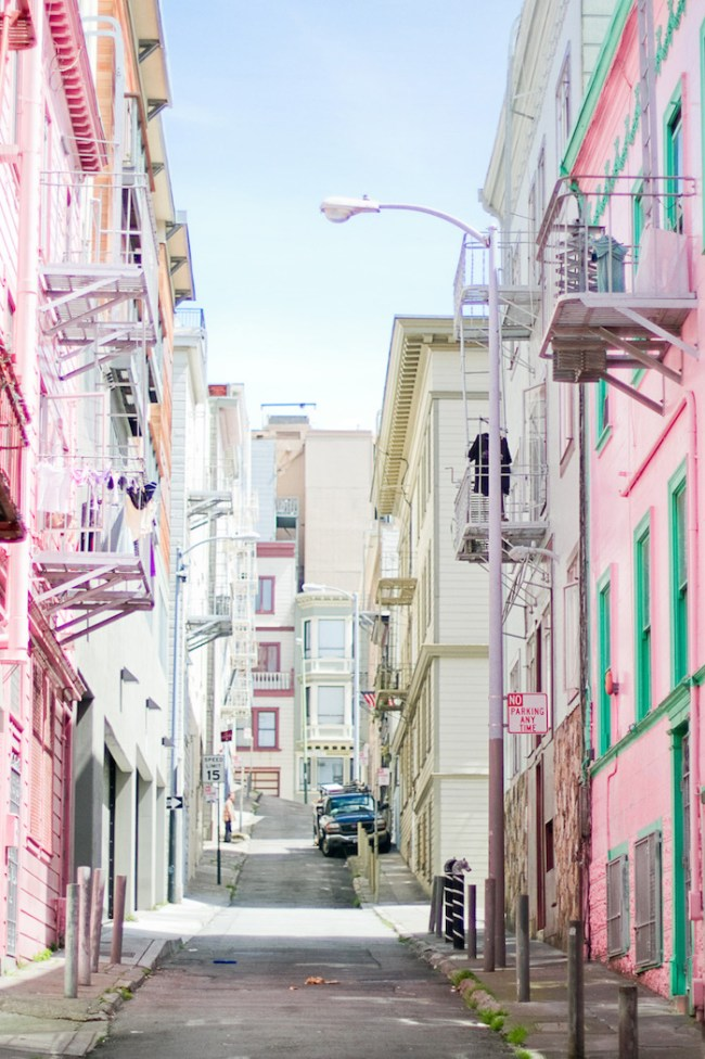City By the Bay | Colorful San Francisco Streets | Anne Solange Tardy