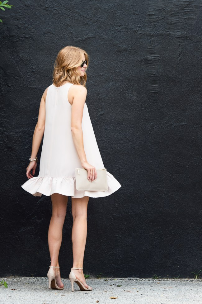 A Piece of Toast | Pink Flounce Dress