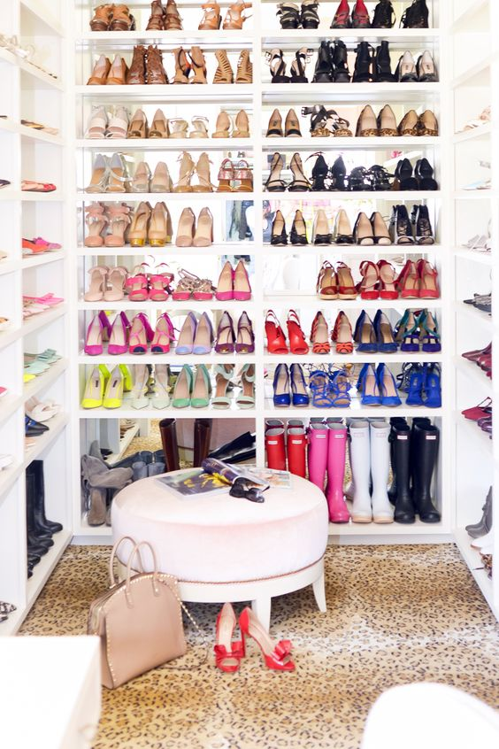 carrie bradshaw shoe closet; shopbop sale