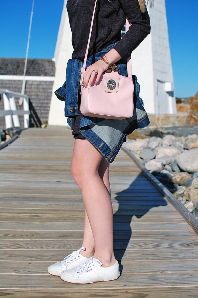 kate spade surprise sale light pink crossbody