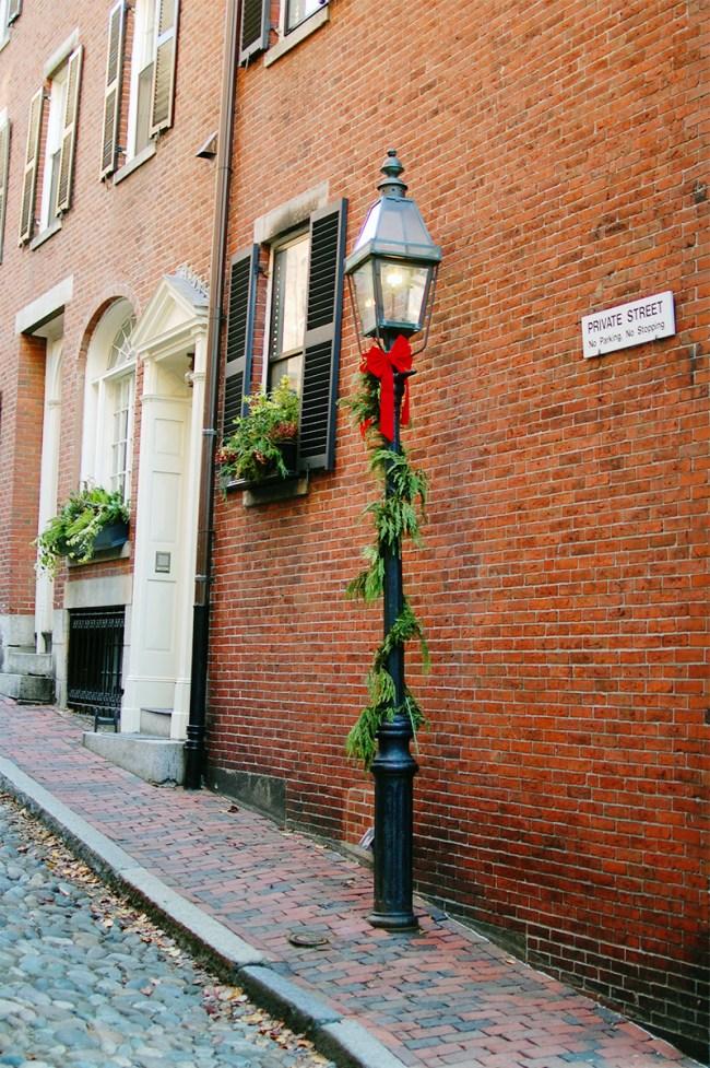 acorn street christmas