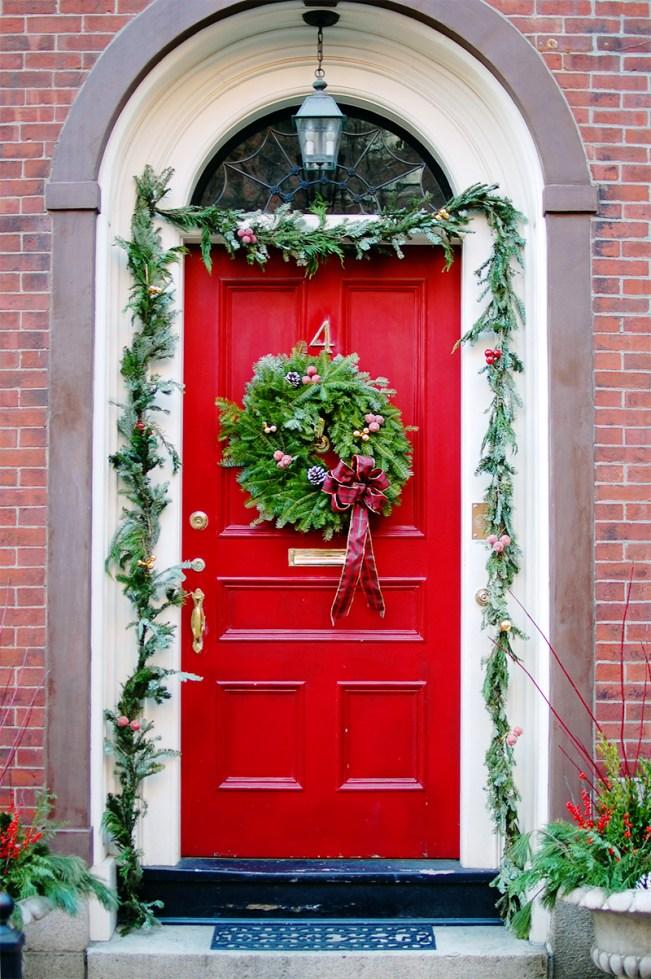 beacon hill red door