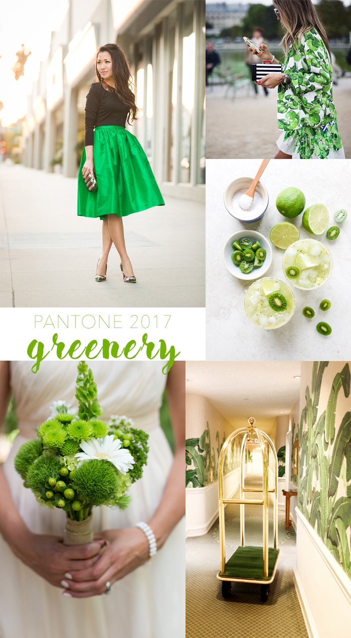 Shell chic 39 d new england life style for Pantone 2017 greenery