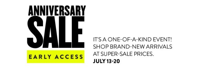 nordstrom anniversary sale date
