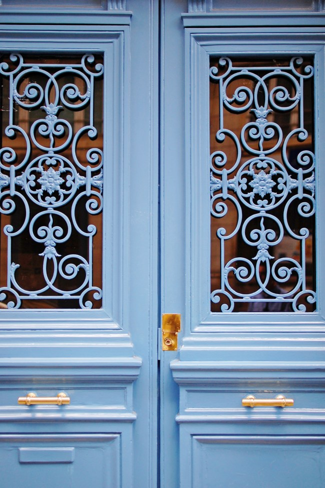 beautiful door details