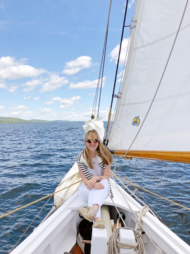 what to wear sailing in maine