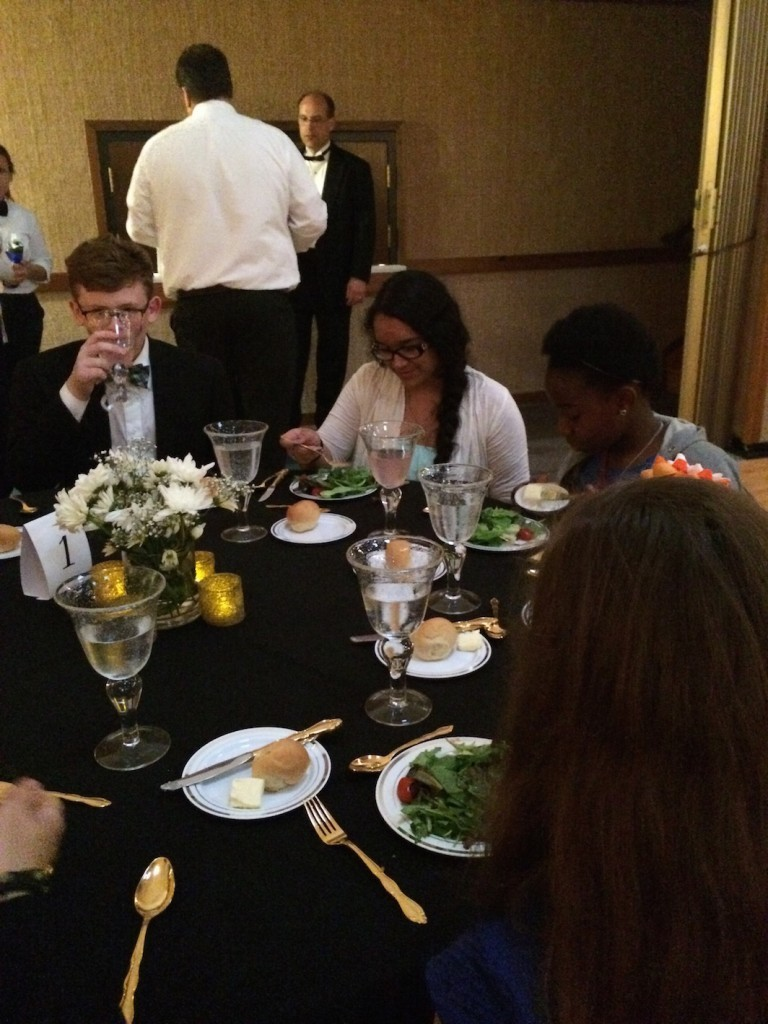 Formal Invitation Etiquette Mutual Activity, Etiquette Dinner, Young Women, Young