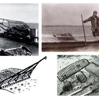 antique-shellfishing-tools