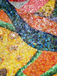 Colorful Mosaic Wall Art   Shellie Lewis' Blog