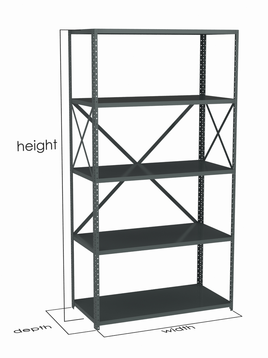 Metal Shelving Dixie Shelving Shelving Rack Manufacturer In Houston