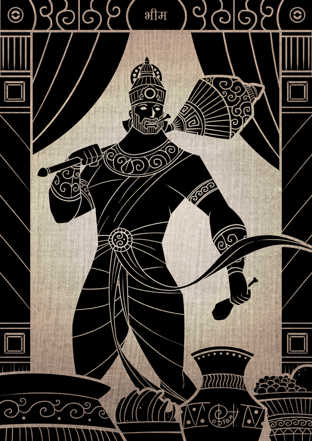 Wallpaper Black Design Bhima Son Of Vayu Aeolus Inquisition