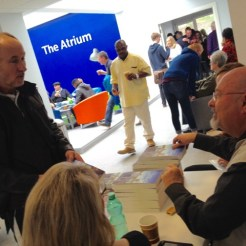 "Book Signing at the Atrium. Serious inquiries about ""Is there a Grandfather in the House?"""