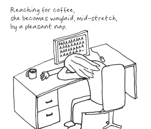 Coffee Nap Haiku