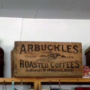 Arbuckles' Coffee Crate