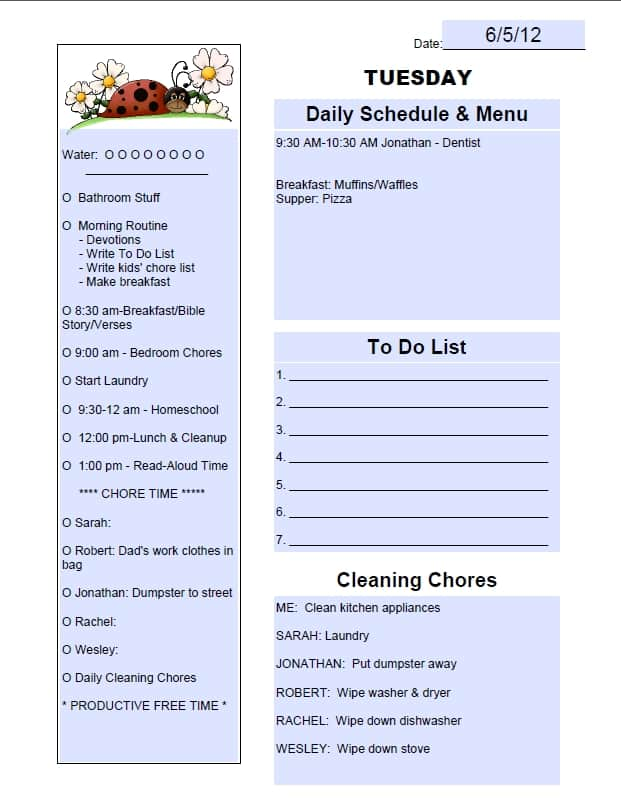 Why Keeping a To Do List Is So Important + How To Get Started - sample to do list