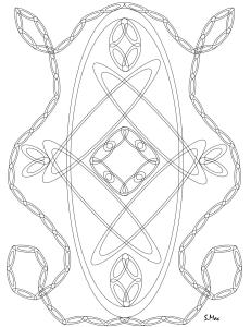 S.Mac's Geometric Coloring Page, Loops