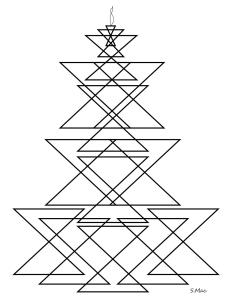 S.Mac's Geometric Coloring Page, Candlestick