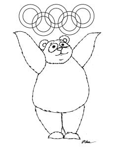S.Mac's Pop Art Panda1 Coloring Page