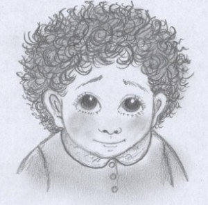 Bumblestook Illustration - Farley as a Baby