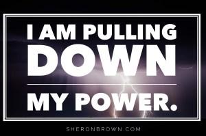 IAMpullingdownmypower