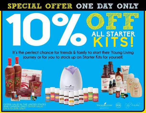 Flash Sale on Young Living Premium Starter Kits!