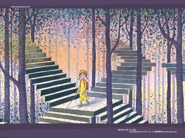 難的不是找到一棵樹,而是願不願意為那顆樹放棄森林。(Image Credit: 幾米《地下鐵》/jimmyspa.com)