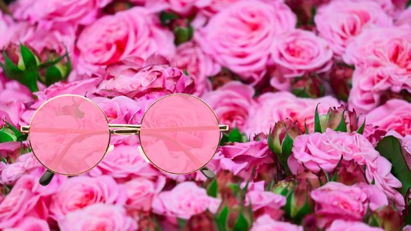 sherrytalk-rose-color glasses