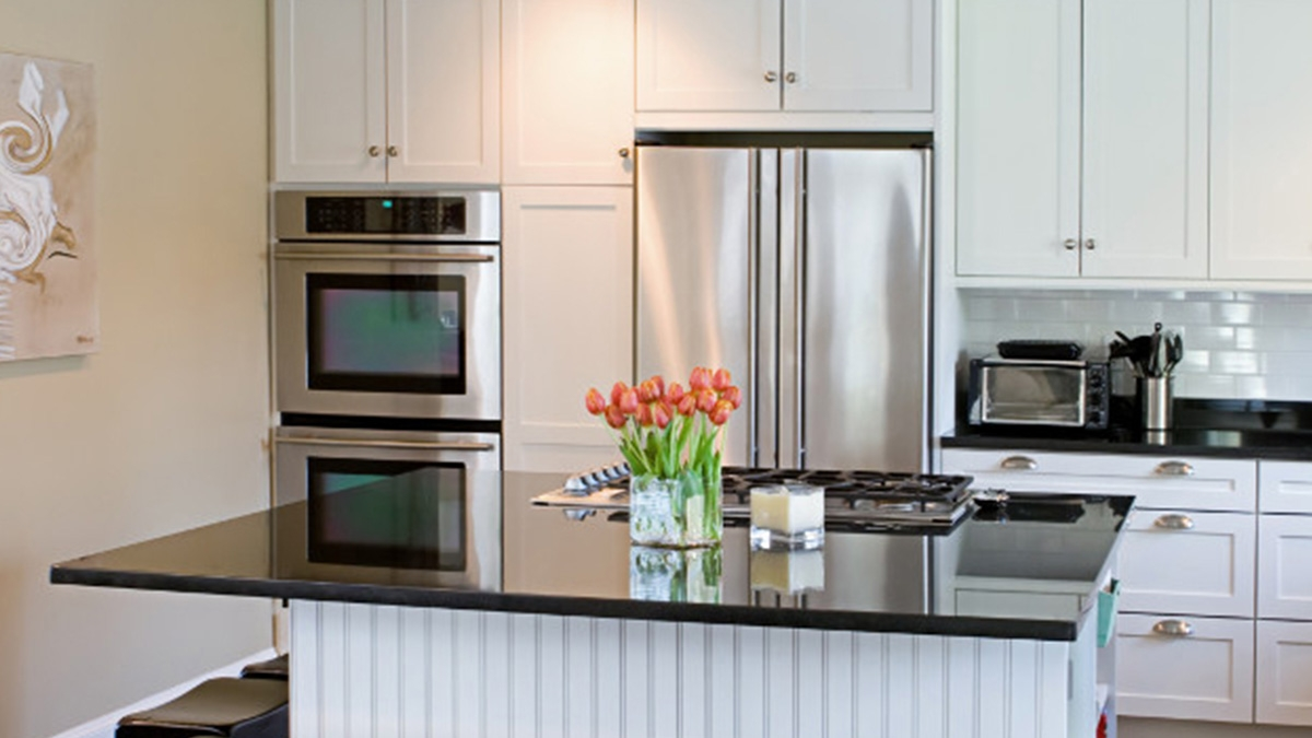 Can You Paint Particle Board Kitchen Cabinets How To Paint Your Kitchen Cabinets In 5 Easy Steps
