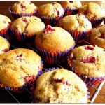 Strawberry Poppyseed Muffins