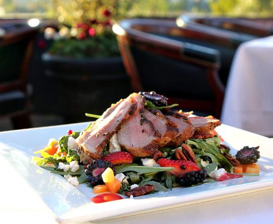 Savannah Chophouse Duck Salad