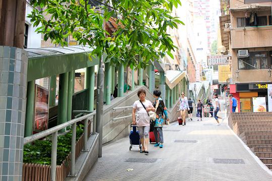 Mid-Levels Escalator Hong Kong