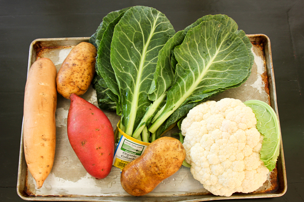 african potato and cauliflower stew
