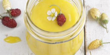 Olive Oil Lemon Curd