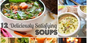 12 Deliciously Satisfying Soups {Vegan, GF, Low Sodium}