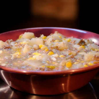 A Green Chile Stew for the Denver Broncos