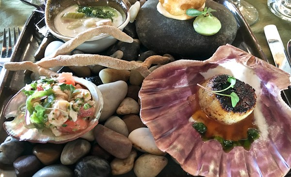 Tasting of Tides at Oceans and Earth Restaurant | ShesCookin.com