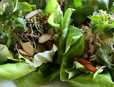 Vegan Lettuce Wraps | ShesCookin.com