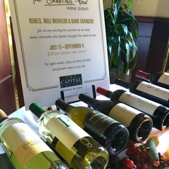 The Capital Grille's Annual Summer Wine Event - The Generous Pour | ShesCookin.com