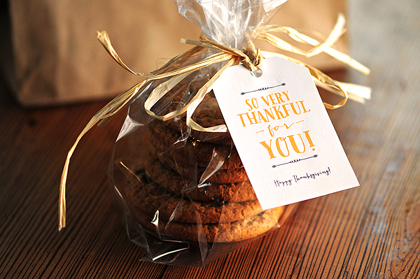Free Thanksgiving Gift Tags  Note Card Printables