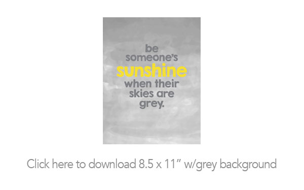 Be Sunshine Printable and Desktop Backgrounds She Wears Many Hats