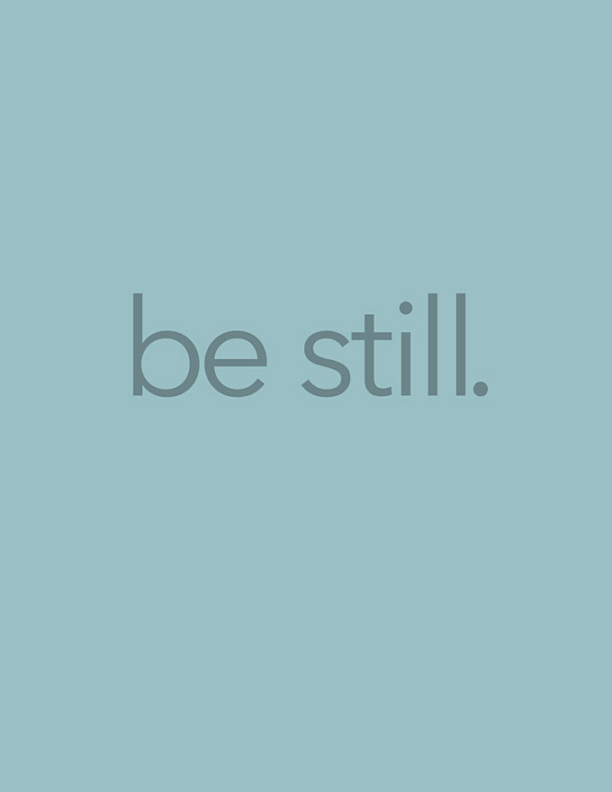 Be Still Free Printable and Screen Backgrounds She Wears Many Hats