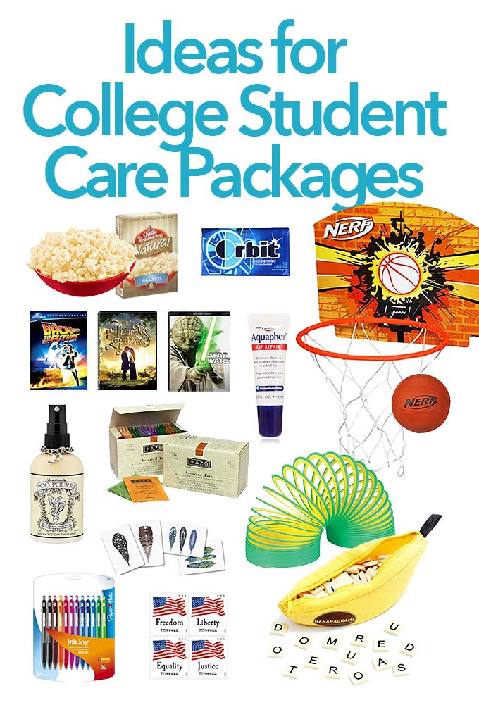 Care Package Ideas for College Students She Wears Many Hats