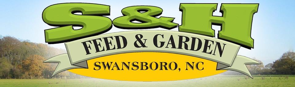 SH Feed and Garden Logo
