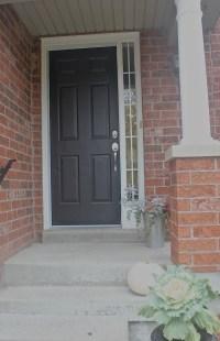 At Home: Garage & Front Door Paint Makeover