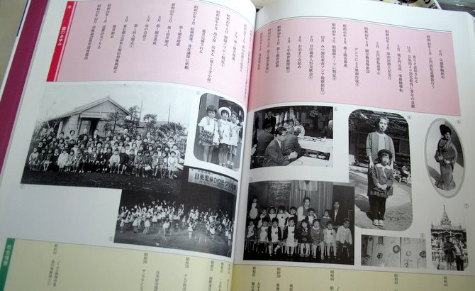 some of the historical photos of Fukuda Kindergarten