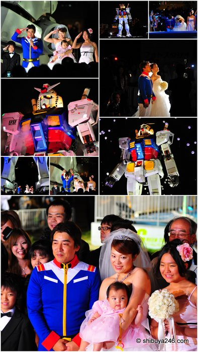 Odaiba Wedding
