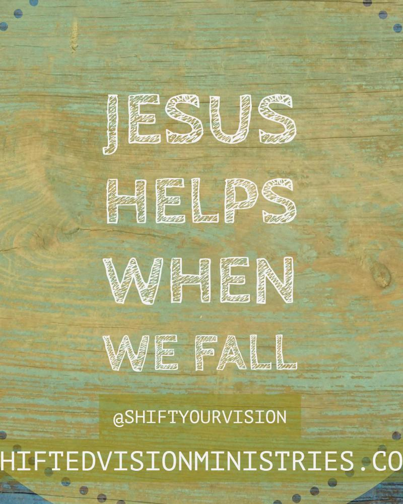 Jesus Helps When we Fall: Faith in the Fire