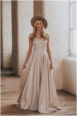 Small Of Bohemian Wedding Dress